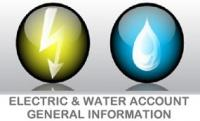 Electric & Water Account General Information
