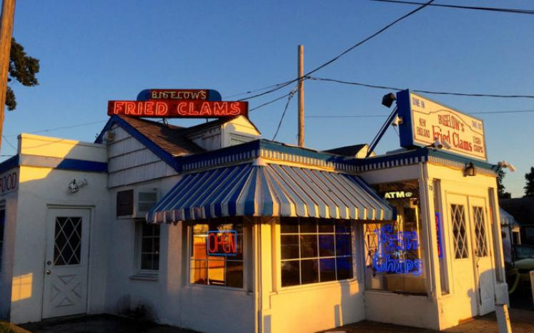Bigelow's fried clams and seafood offer an unsurpassed taste of RVC. (Image Credit: Long Island Press)