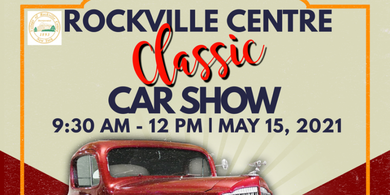 Image of classic car with information regarding Car show