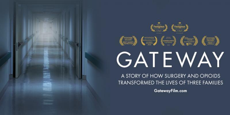 Gateway film empty hallway